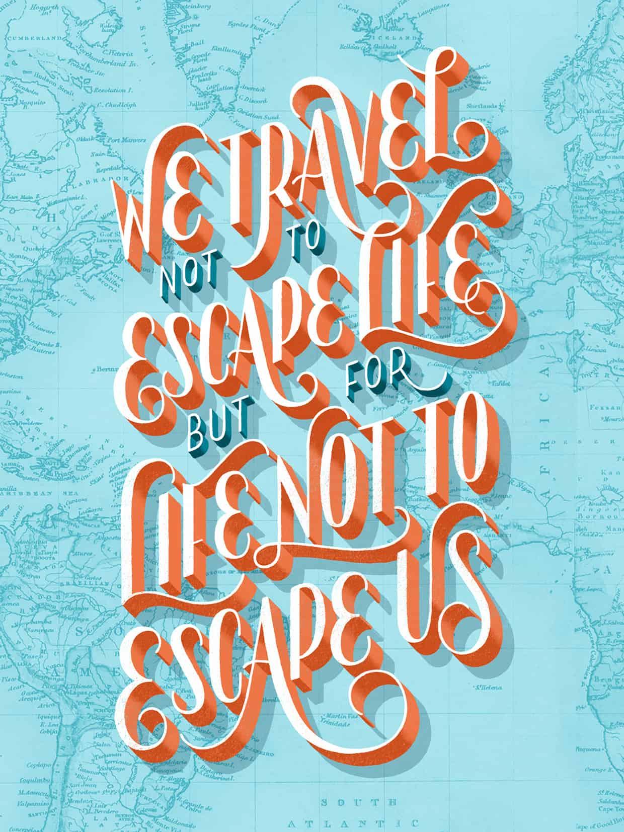 26 Letters 26 000 Miles By Lauren Hom Design Ideas