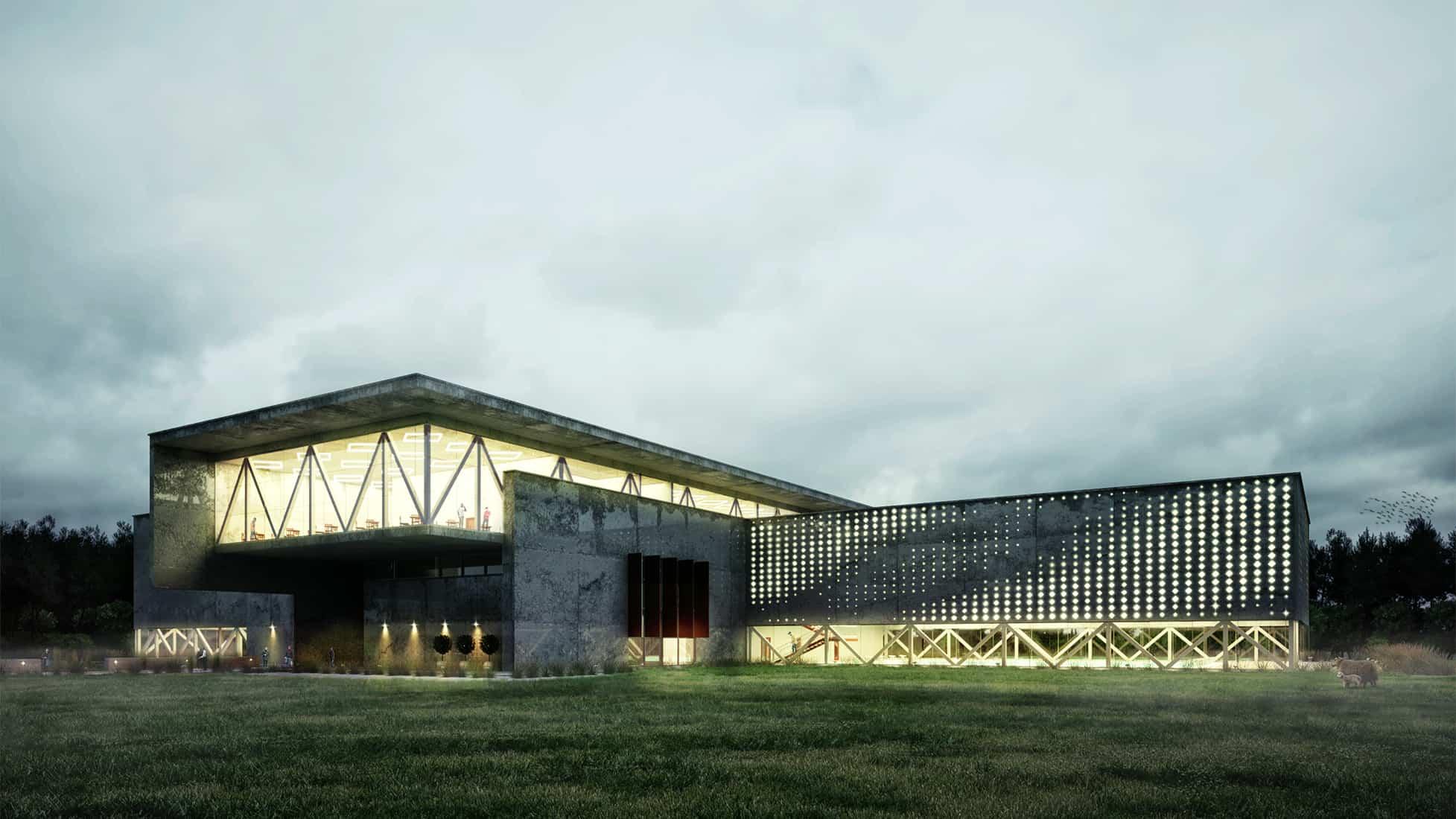 Sports Complex By Yura Savitskyi Design Ideas