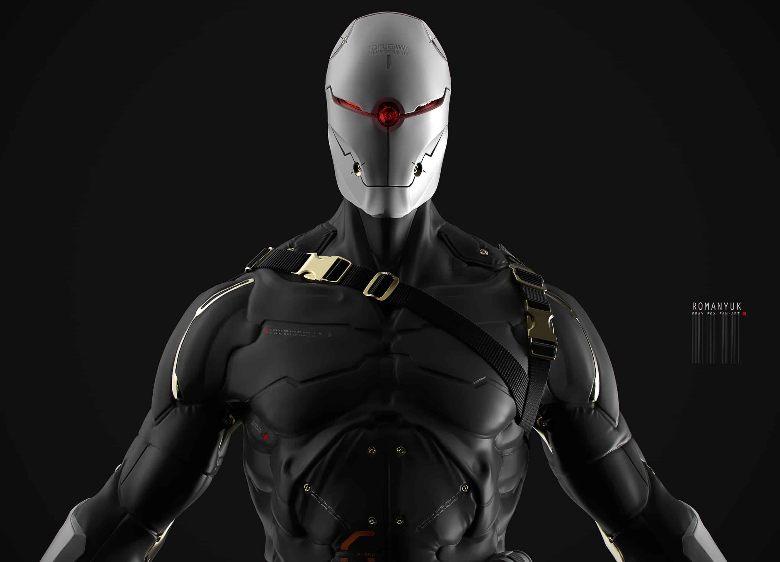 Metal Gear By Yuri Romanyuk Design Ideas