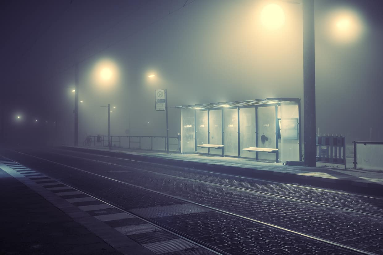 Andreas Levers Photography Atmosphere Light Pinterest - City streets glow in eerie night time photographs by andreas levers