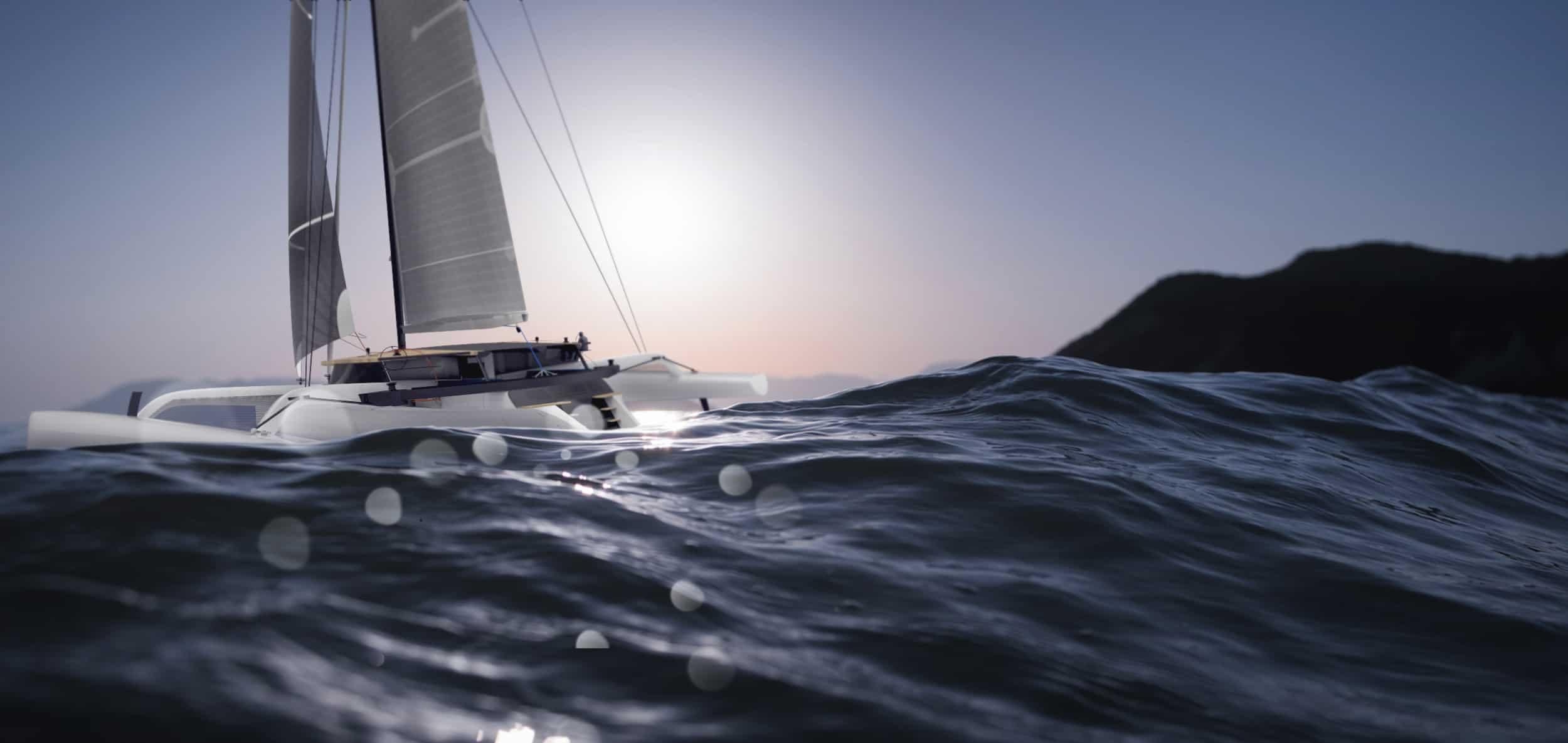 Yacht Trimaran by Alibi Yachts - Design Ideas