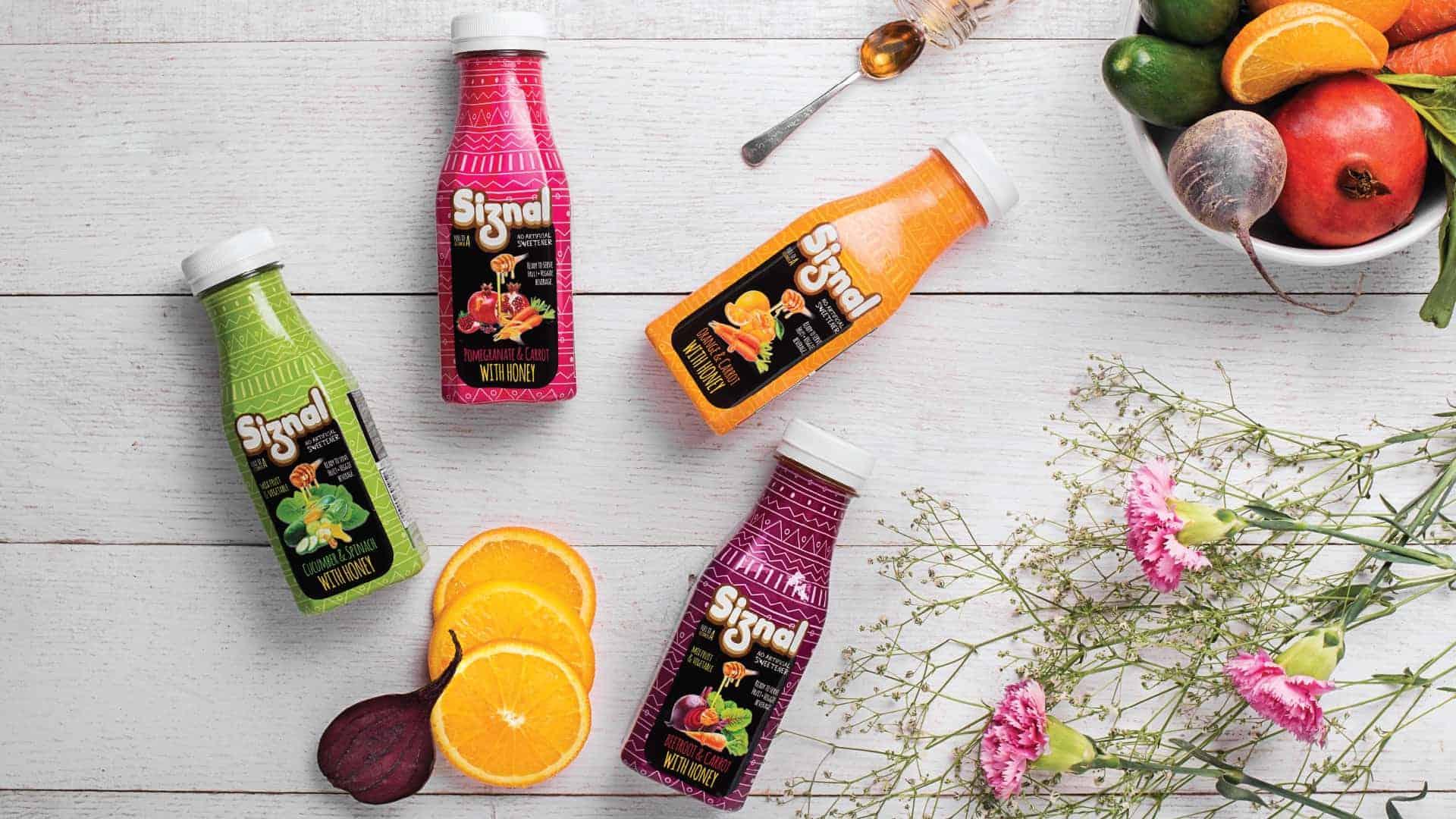 Siznal Juice Packaging