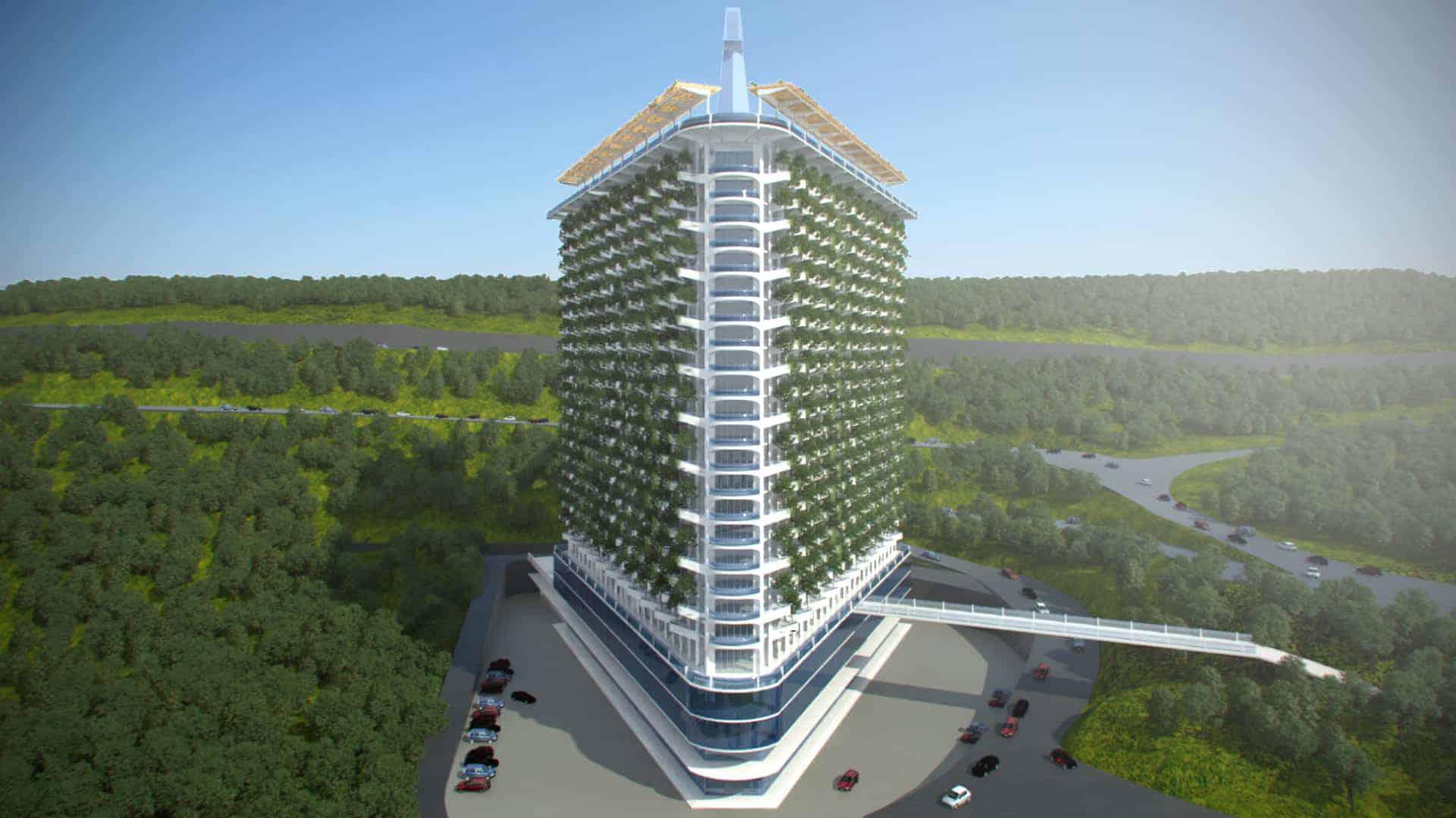 Bio-Architecture Building Concept in Yerevan
