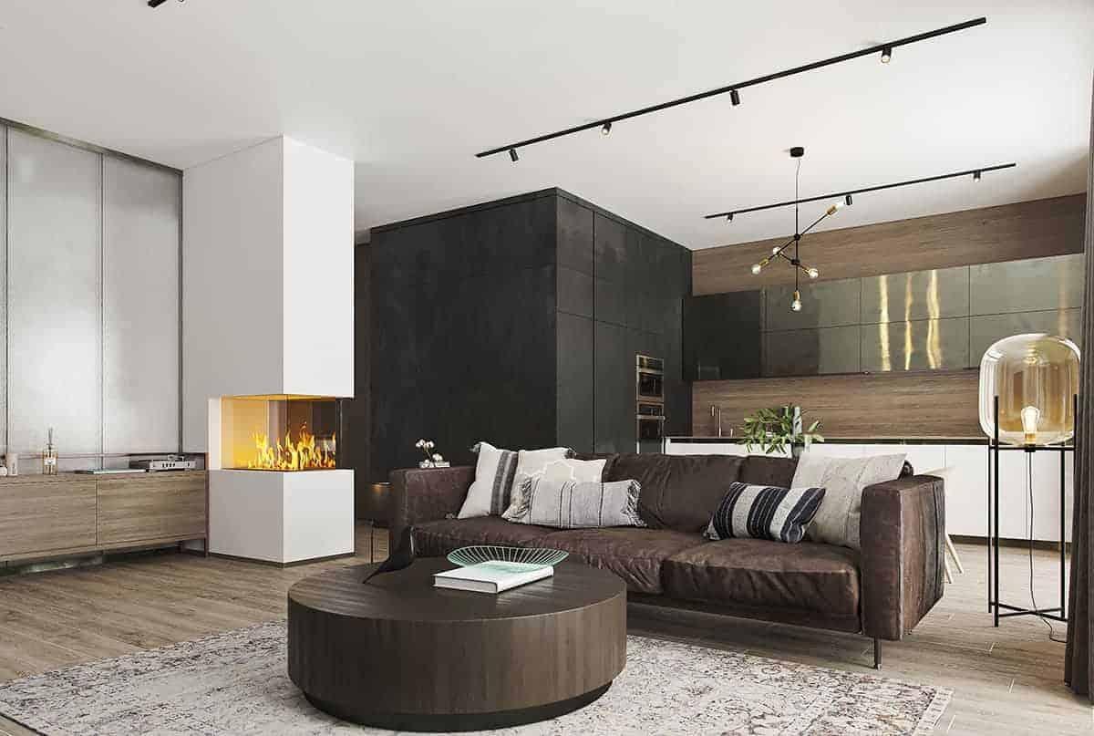 Apartments in Zurich, Switzerland.