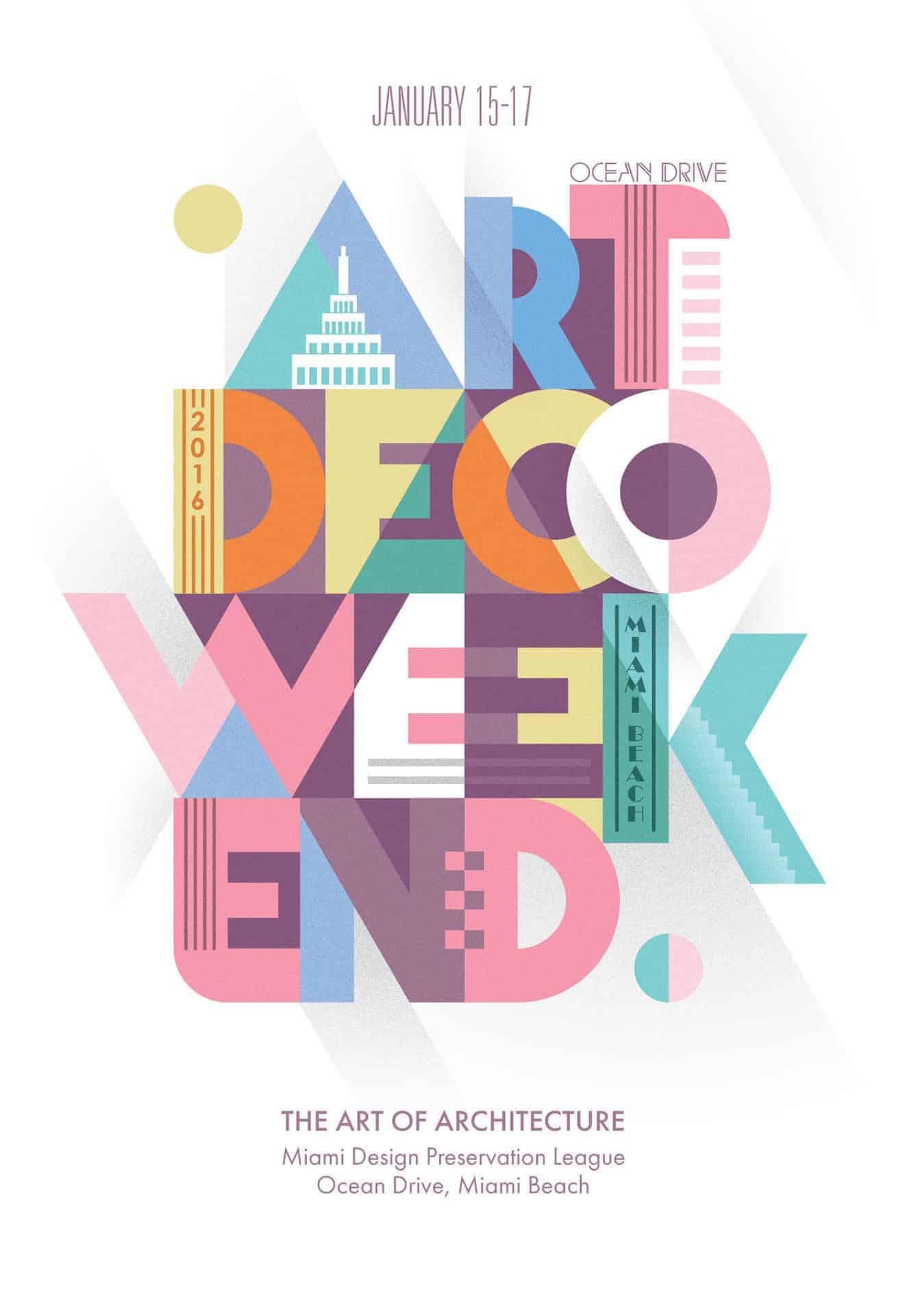 Poster | ArtDeco Weekend - Design Ideas