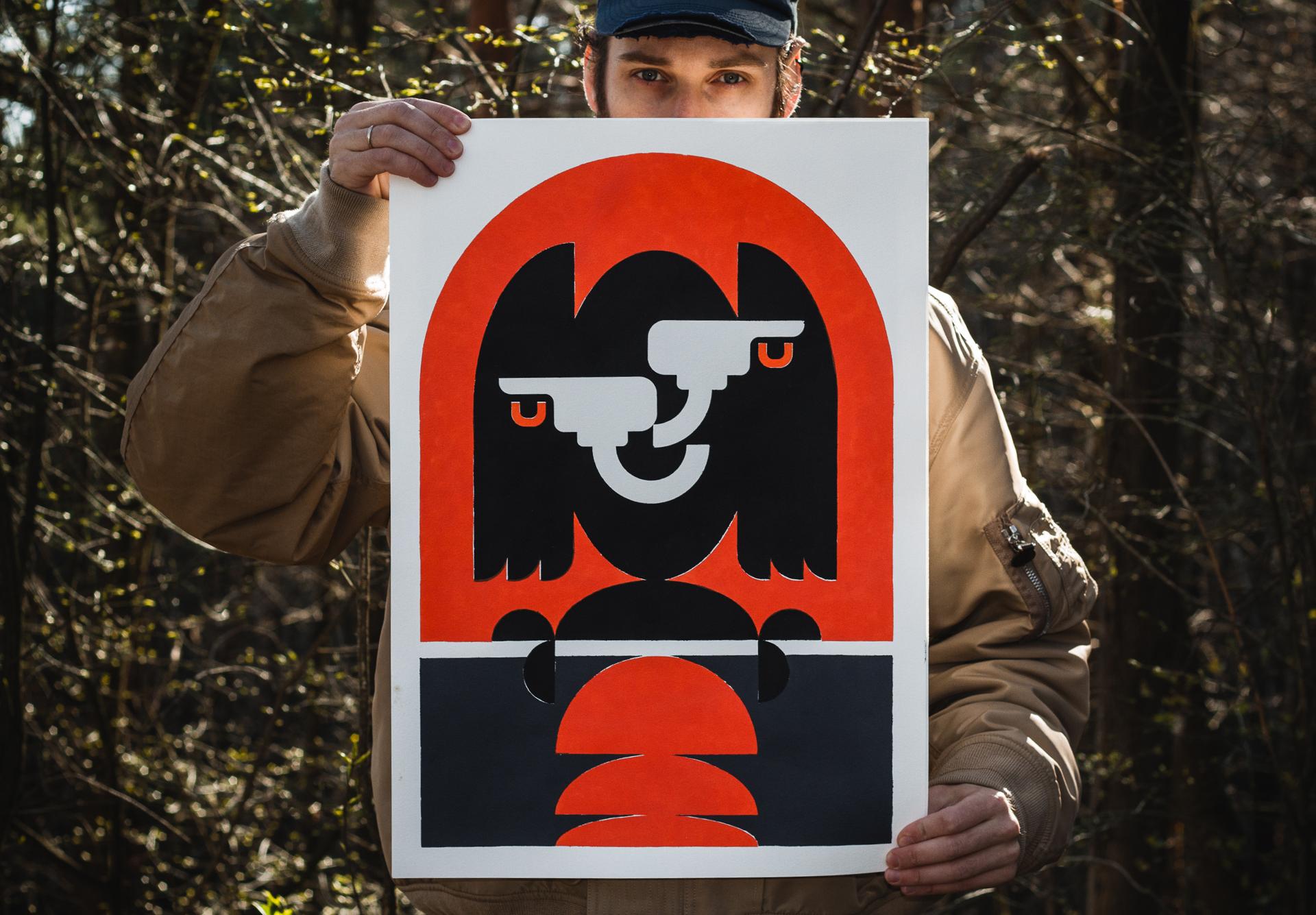 Untitled Stencil Series
