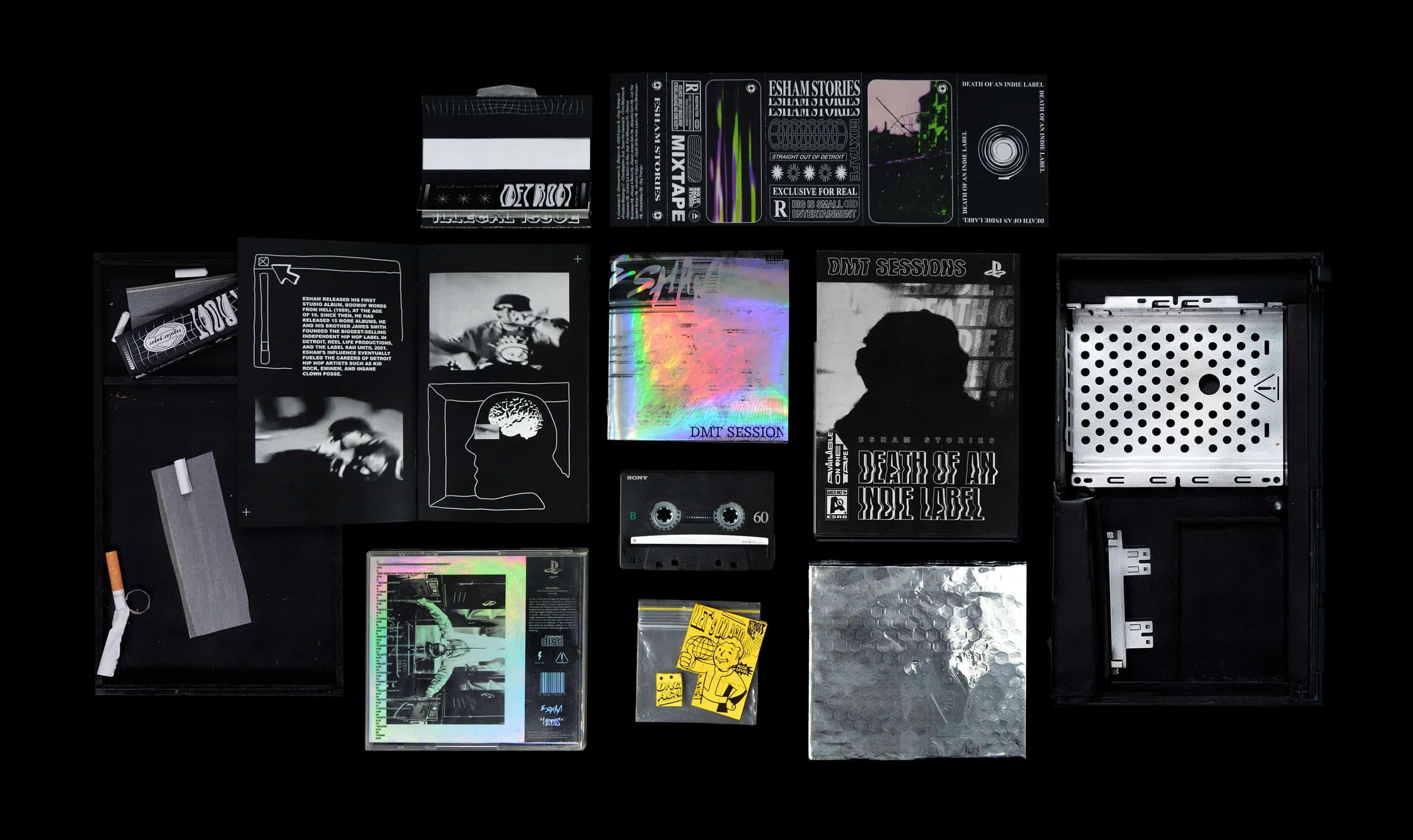 Esham - DMT Sessions (black market edition)