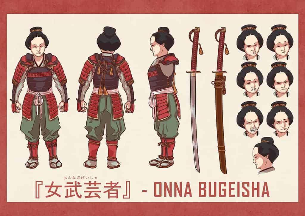 Onna Bugeisha