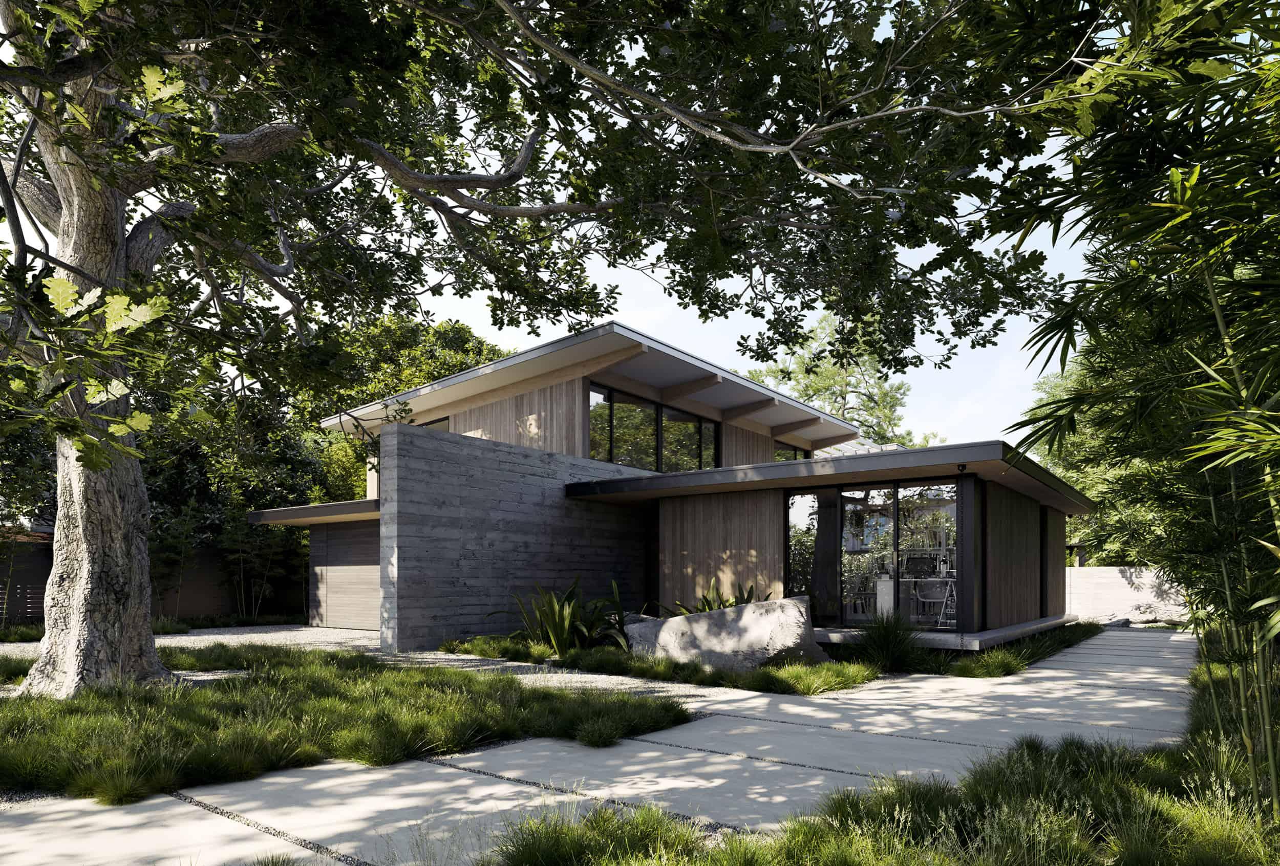 The Sanctuary. Palo Alto. California. Feldman Architecture