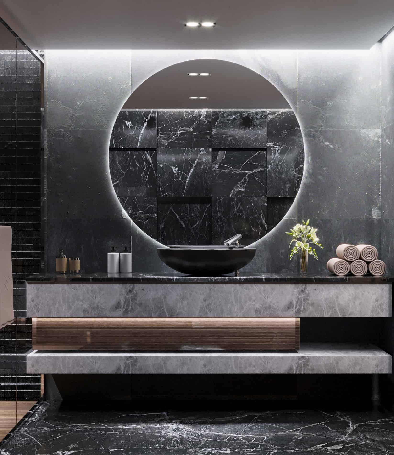 Leisure Modern Bathroom