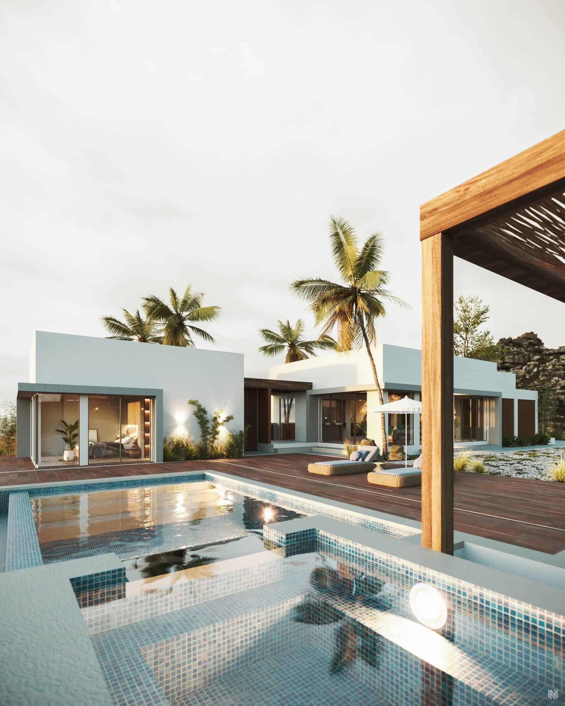 Monkey Beach, House | Remodeling and Visualization