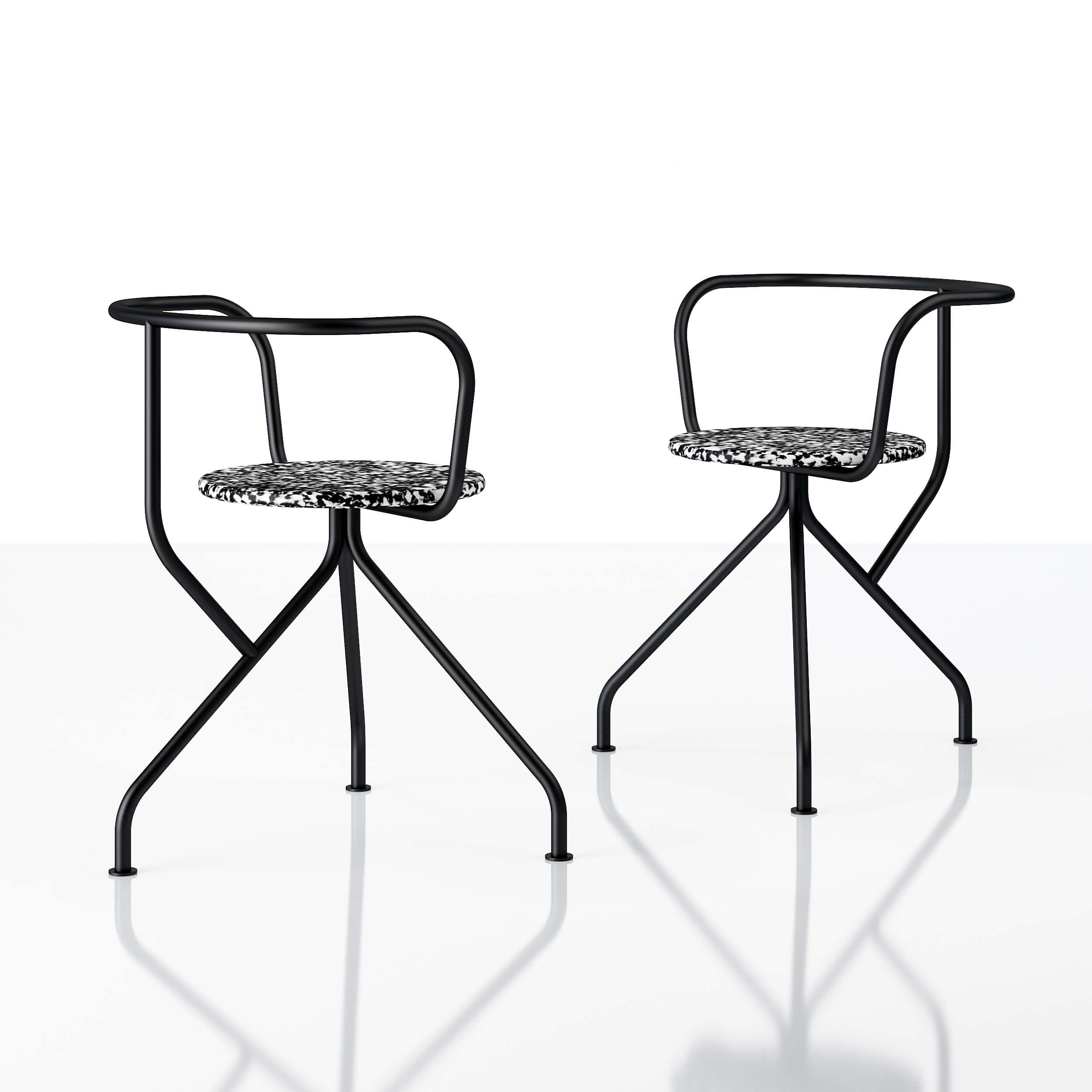 Recycled chair Kohti