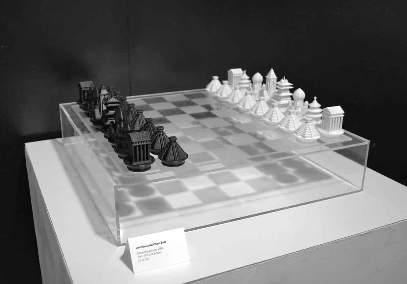 Architectural Chess Sets