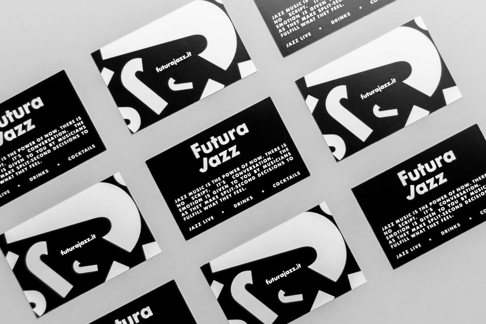 Futura Jazz Bar - Brand Identity