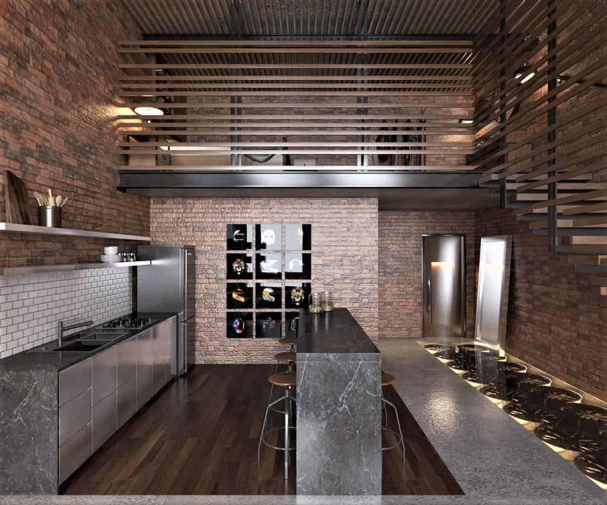 8903a779872601.5cd0c5f7930ed Industrial Warehouse Loft Design on church loft, factory loft, residential loft, shop loft, garage loft, office loft, home loft,