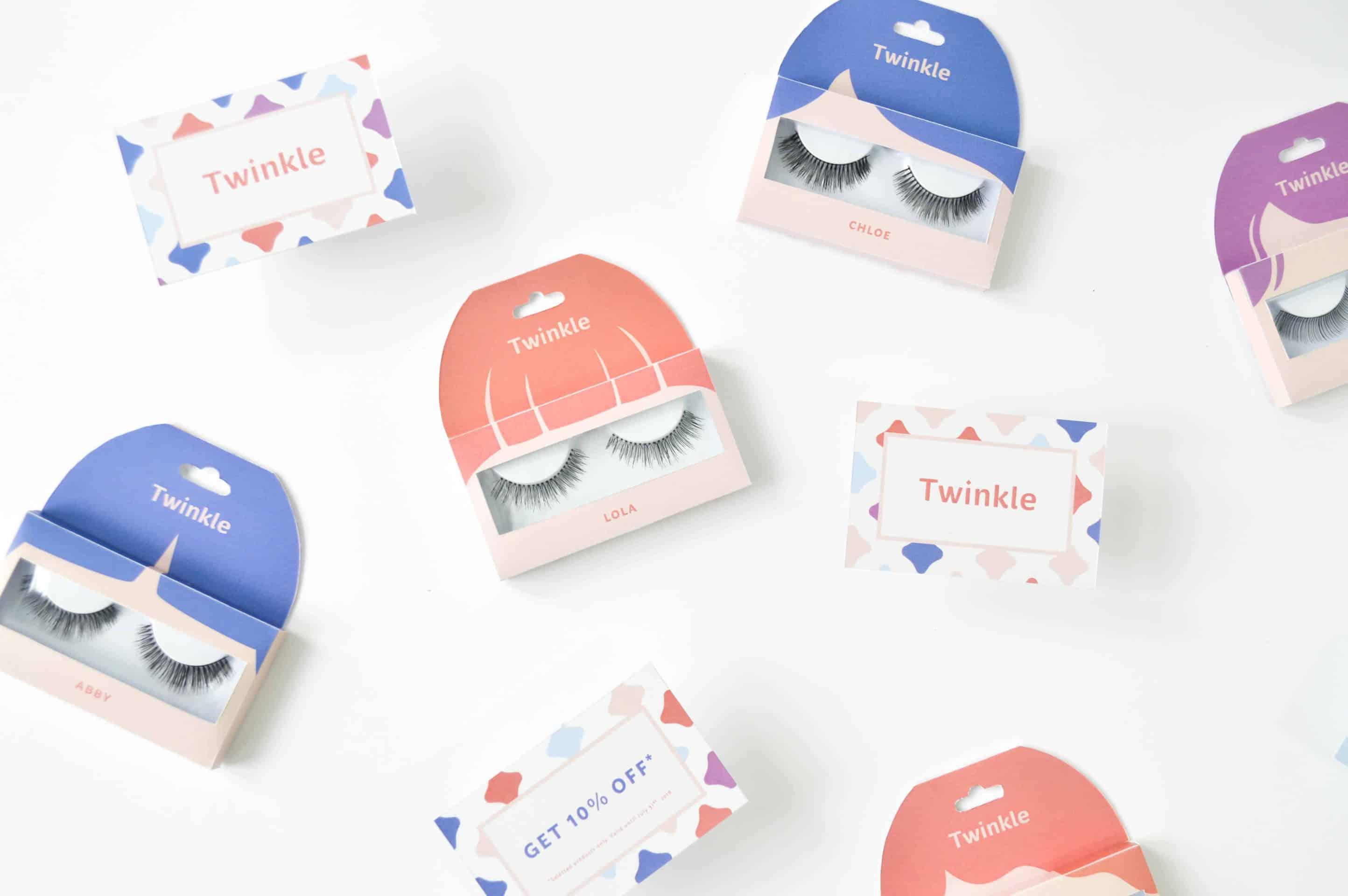 Twinkle - Creative Eyelash Packaging