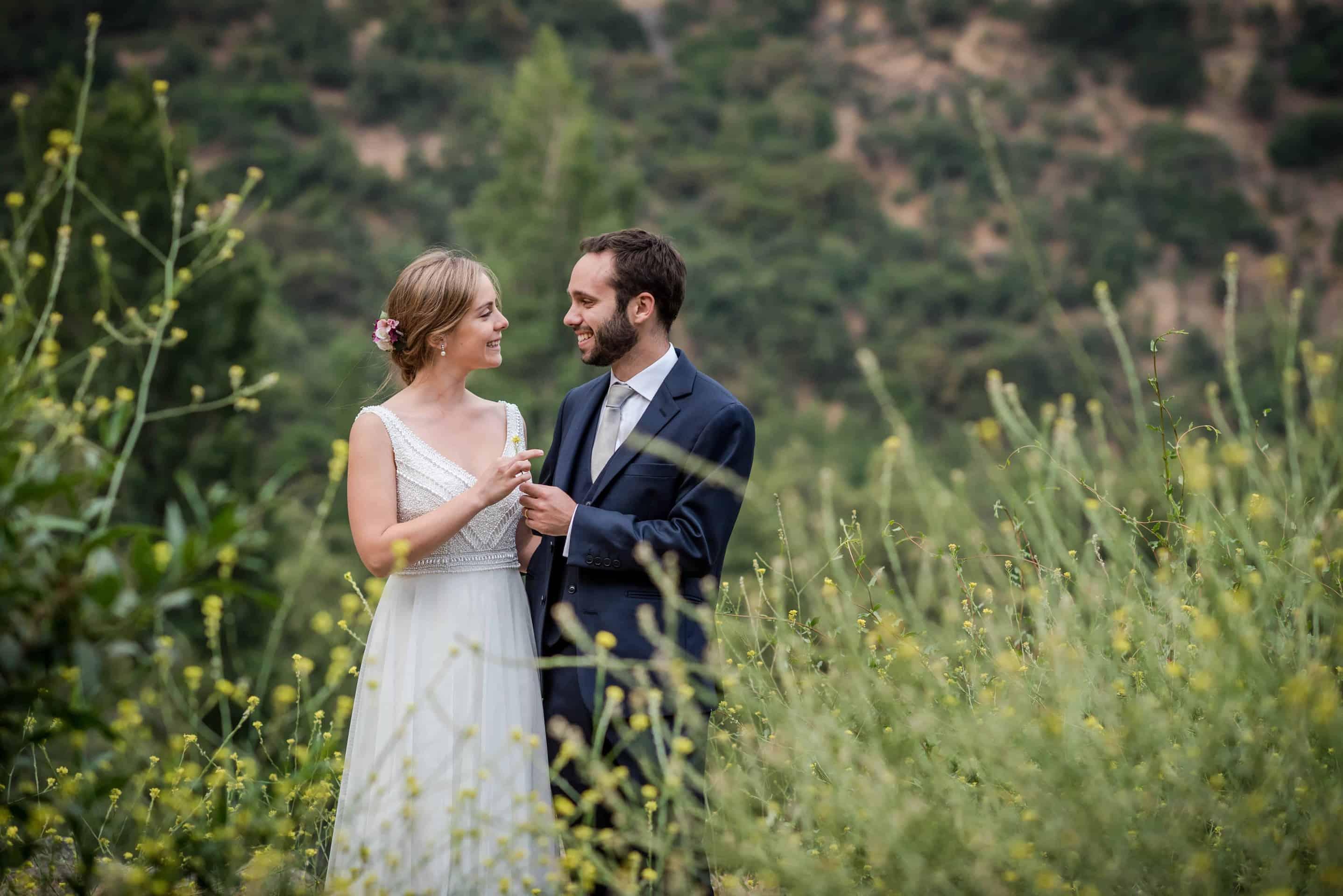 Post wedding shoot just outside Santiago, Chile