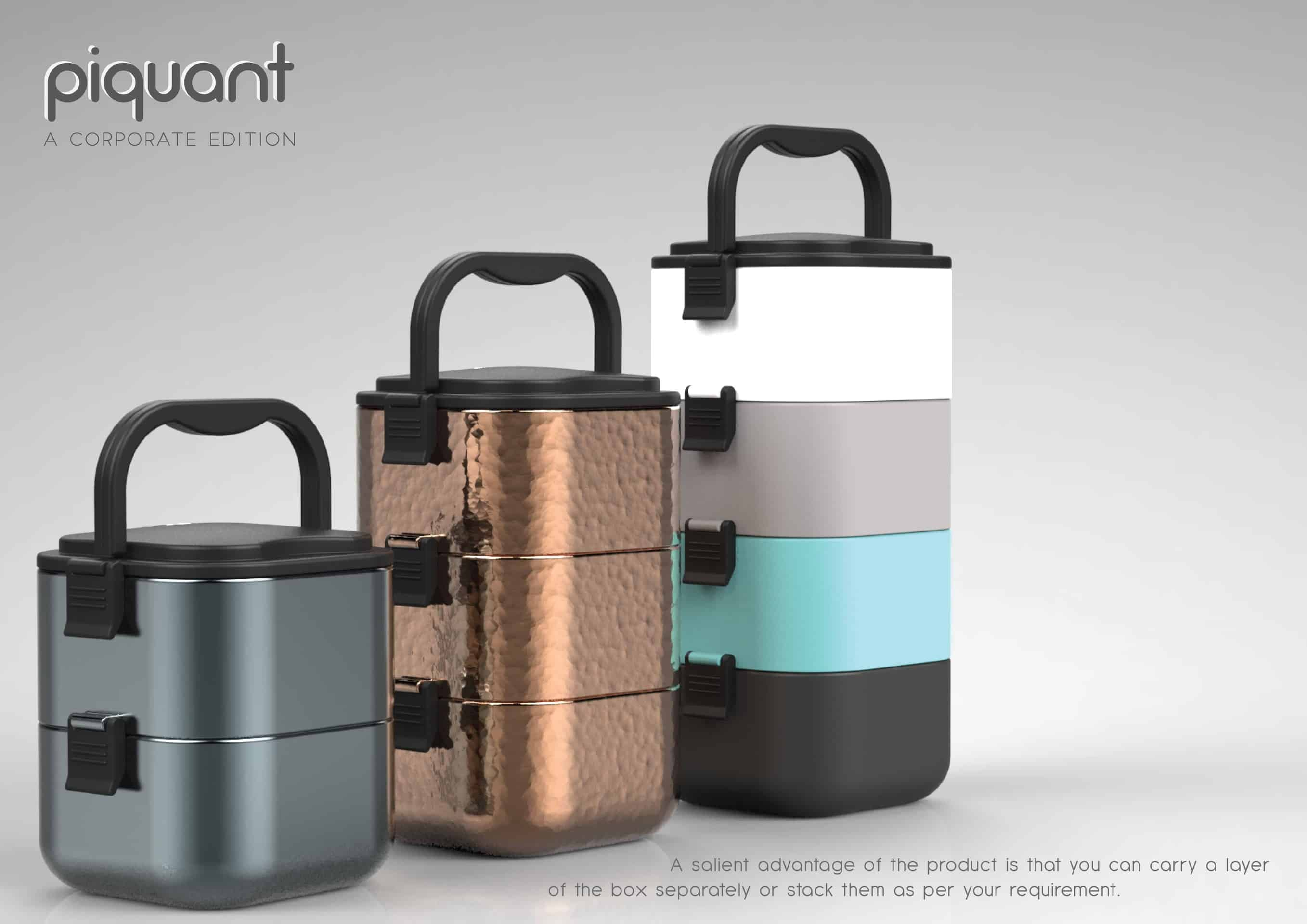 Piquant - A Corporate Lunchbox