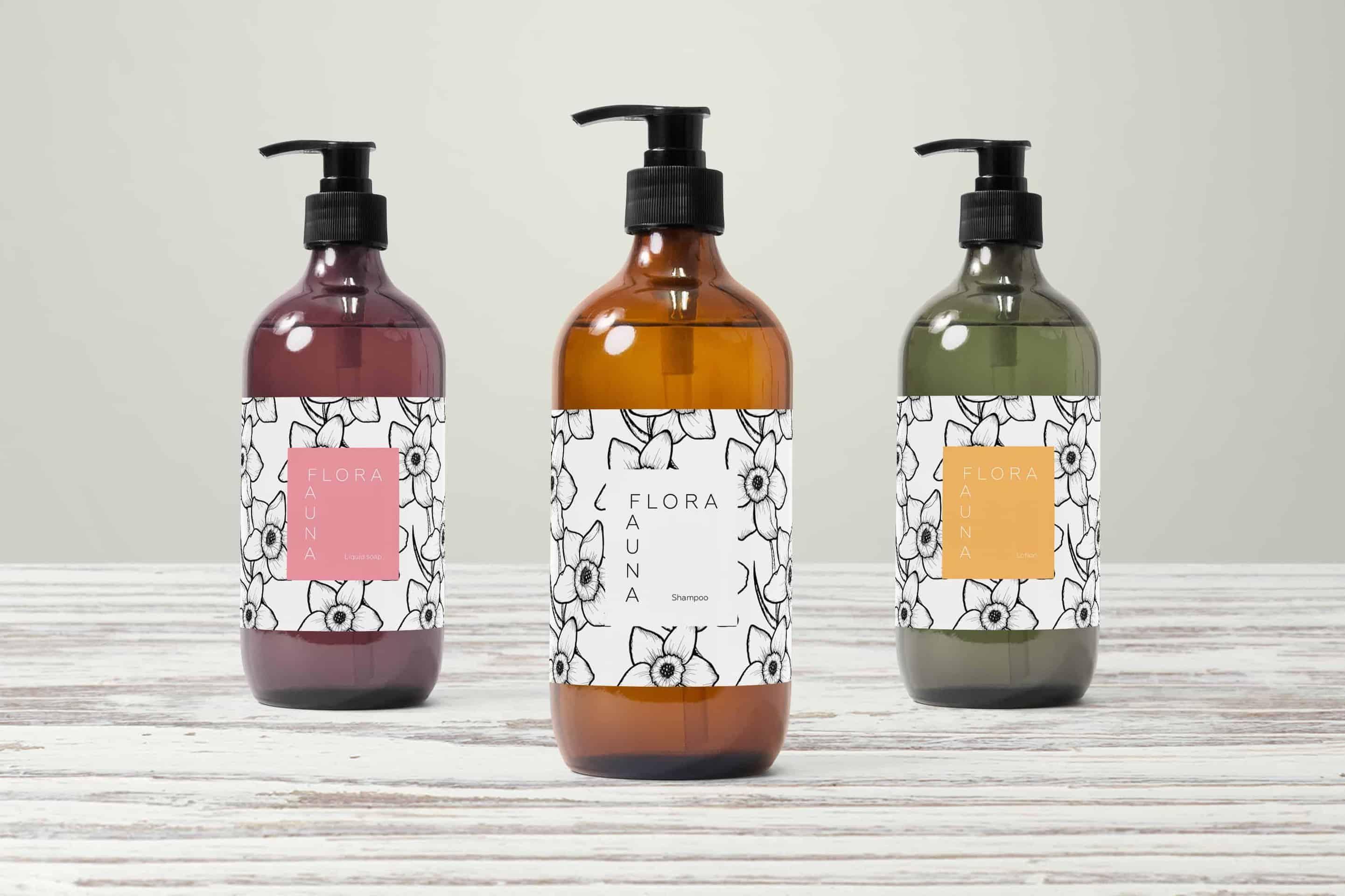 Flora&Fauna Label Design for Briefbox