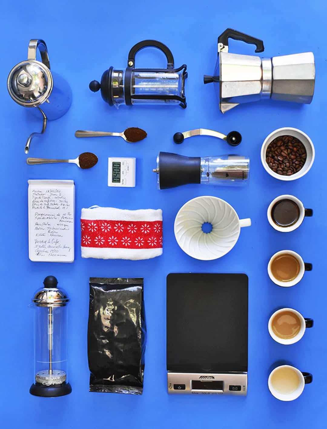 Salvadoran Coffee - Knolling