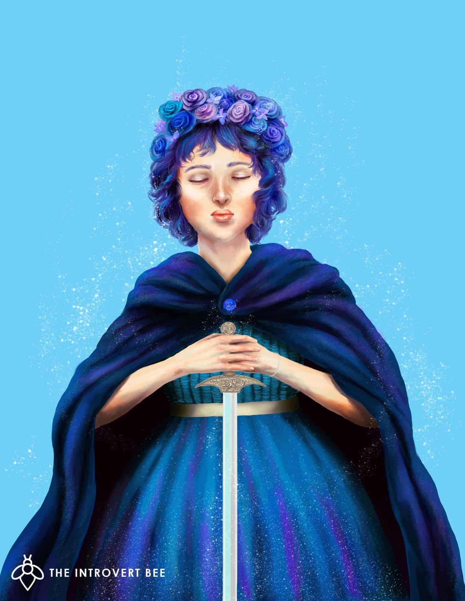 La Mujer Azul