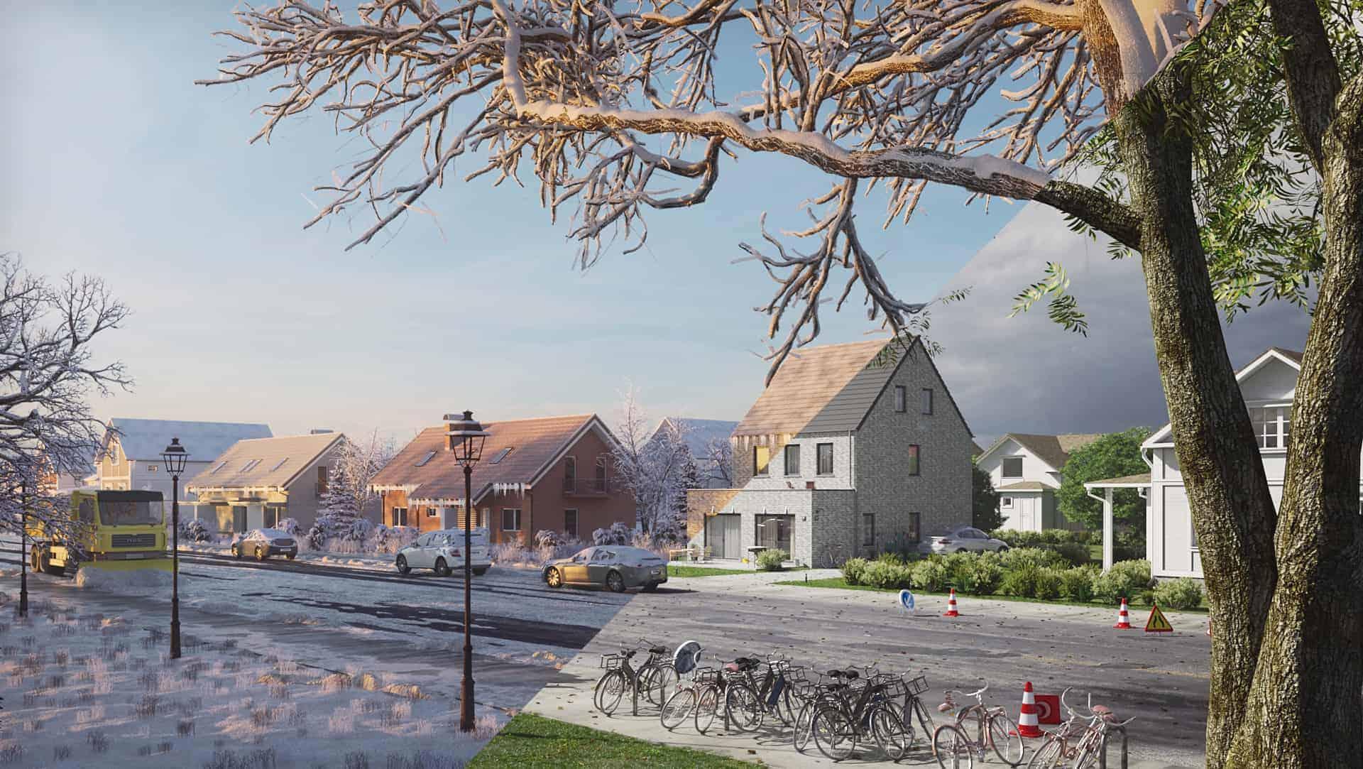 Simple Housing (Winter - Summer)