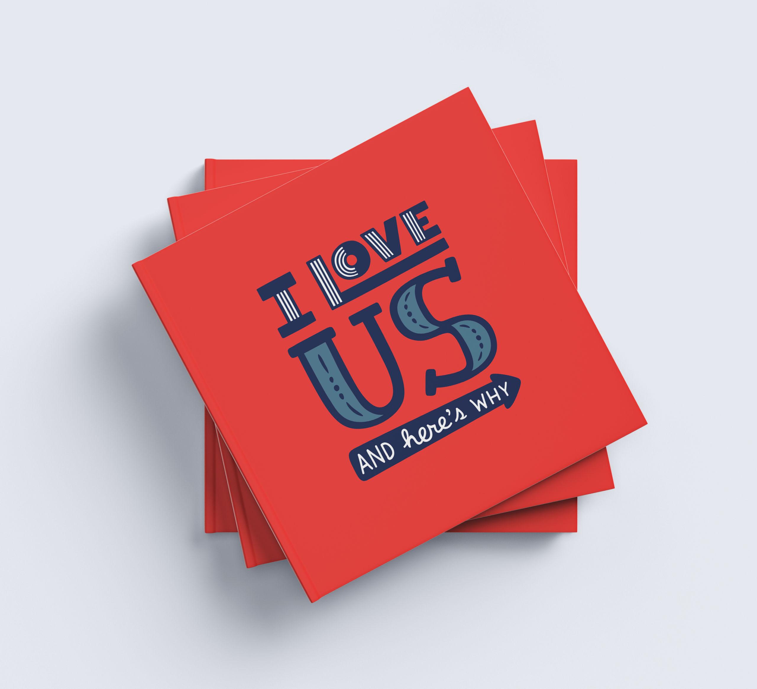 I Love Us Book