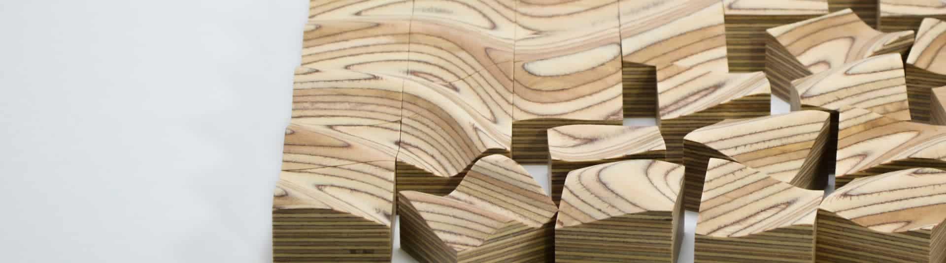 Strata | A sculptural wooden surface puzzle - Design Ideas