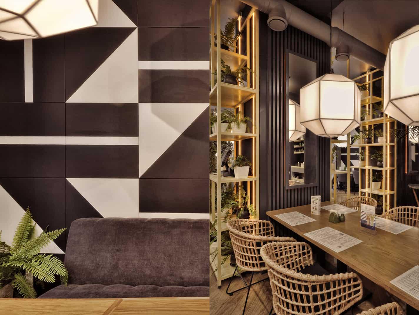 Lao Bao panasian cafe design in Russia