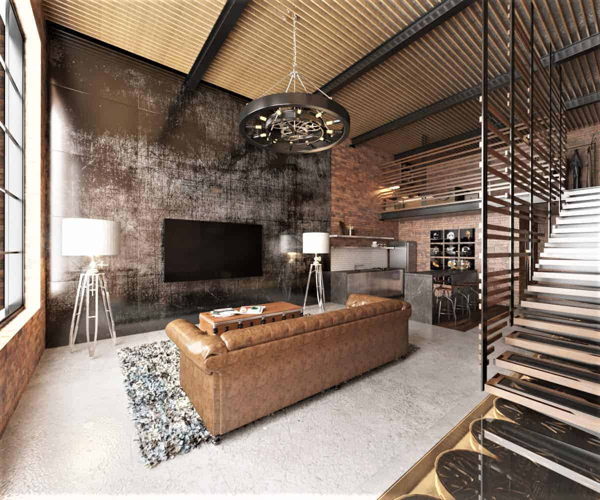 Industrial Warehouse Loft - Design Ideas
