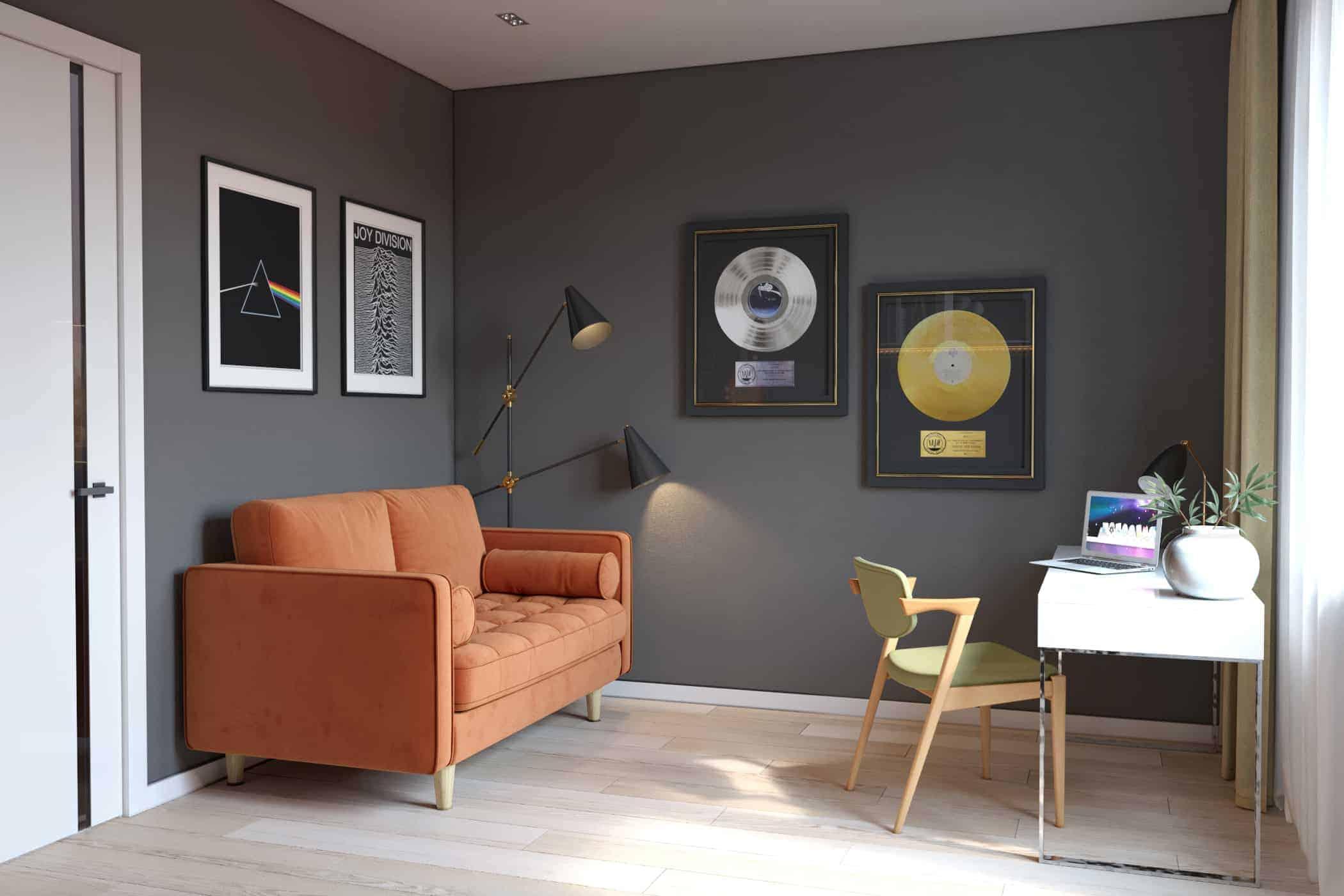 Room for musician