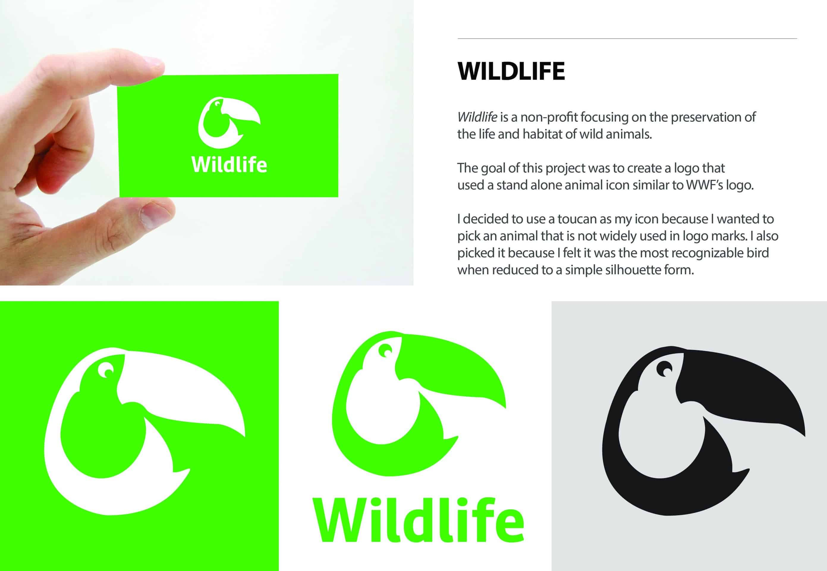 dc13a1b541e8d Wildlife Identity Design Concept - Design Ideas