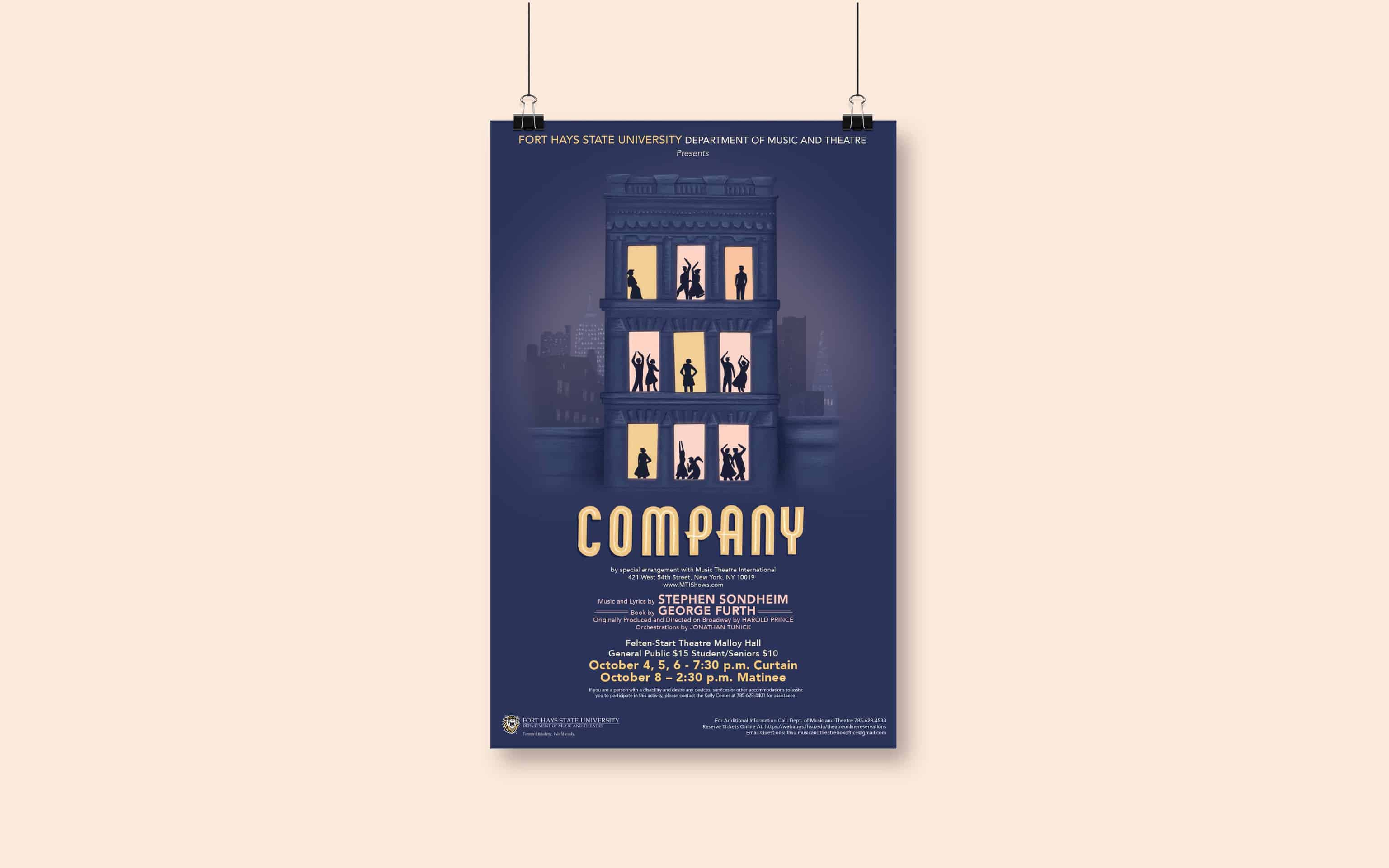 Company Musical Poster