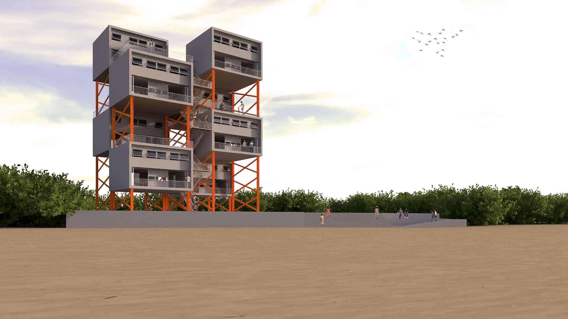 Beach Duplex
