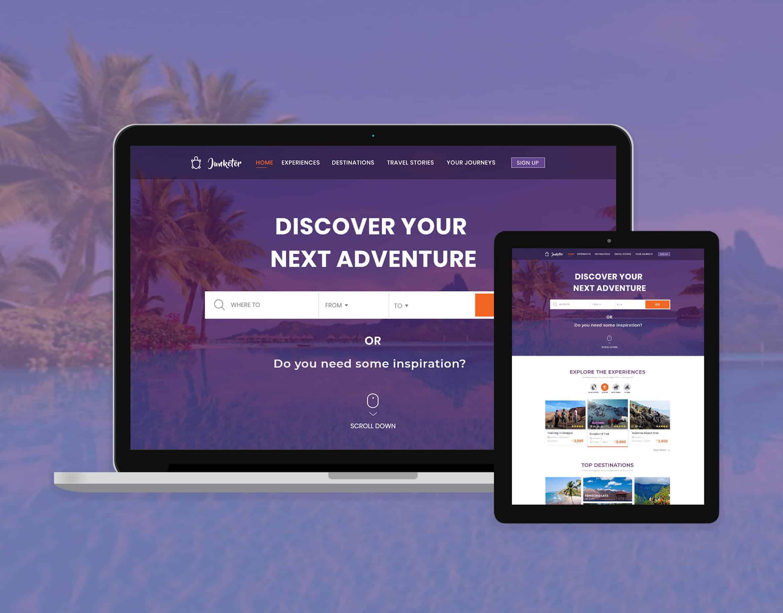 Junketer Travel E-commerce Website