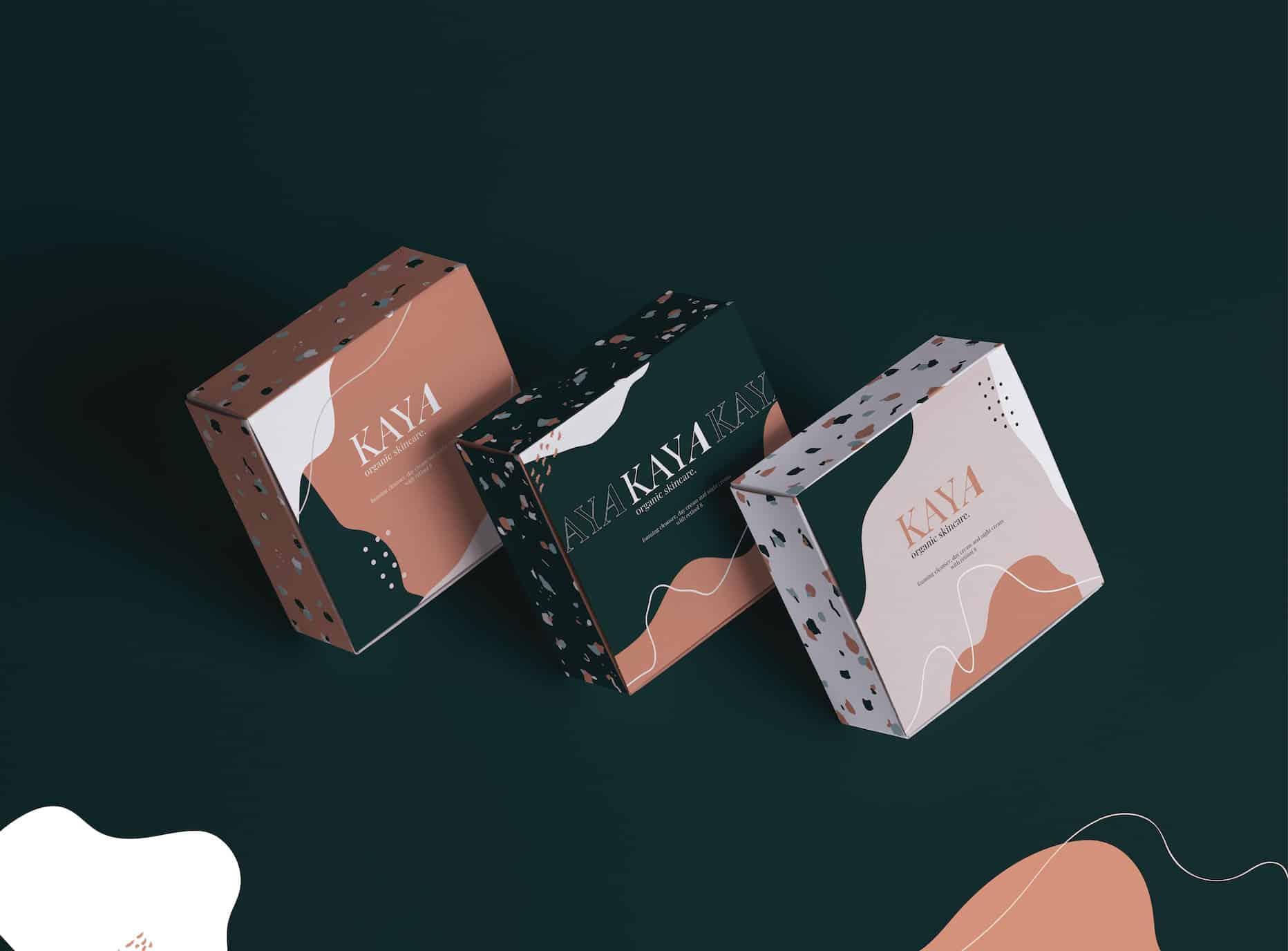 Kaya - Organic Skincare | Packaging Mockup