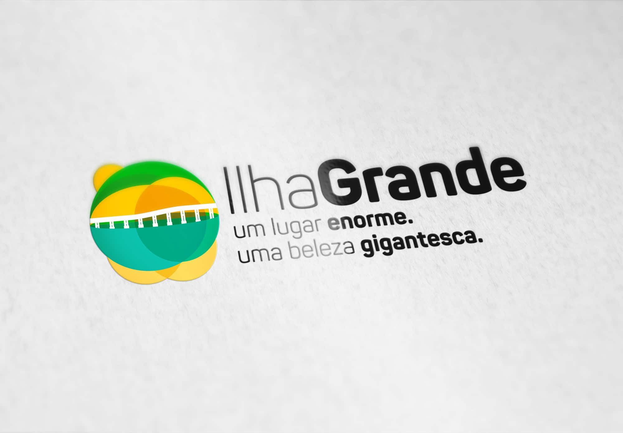 Visual identity for the tourist city of Ilha Grande