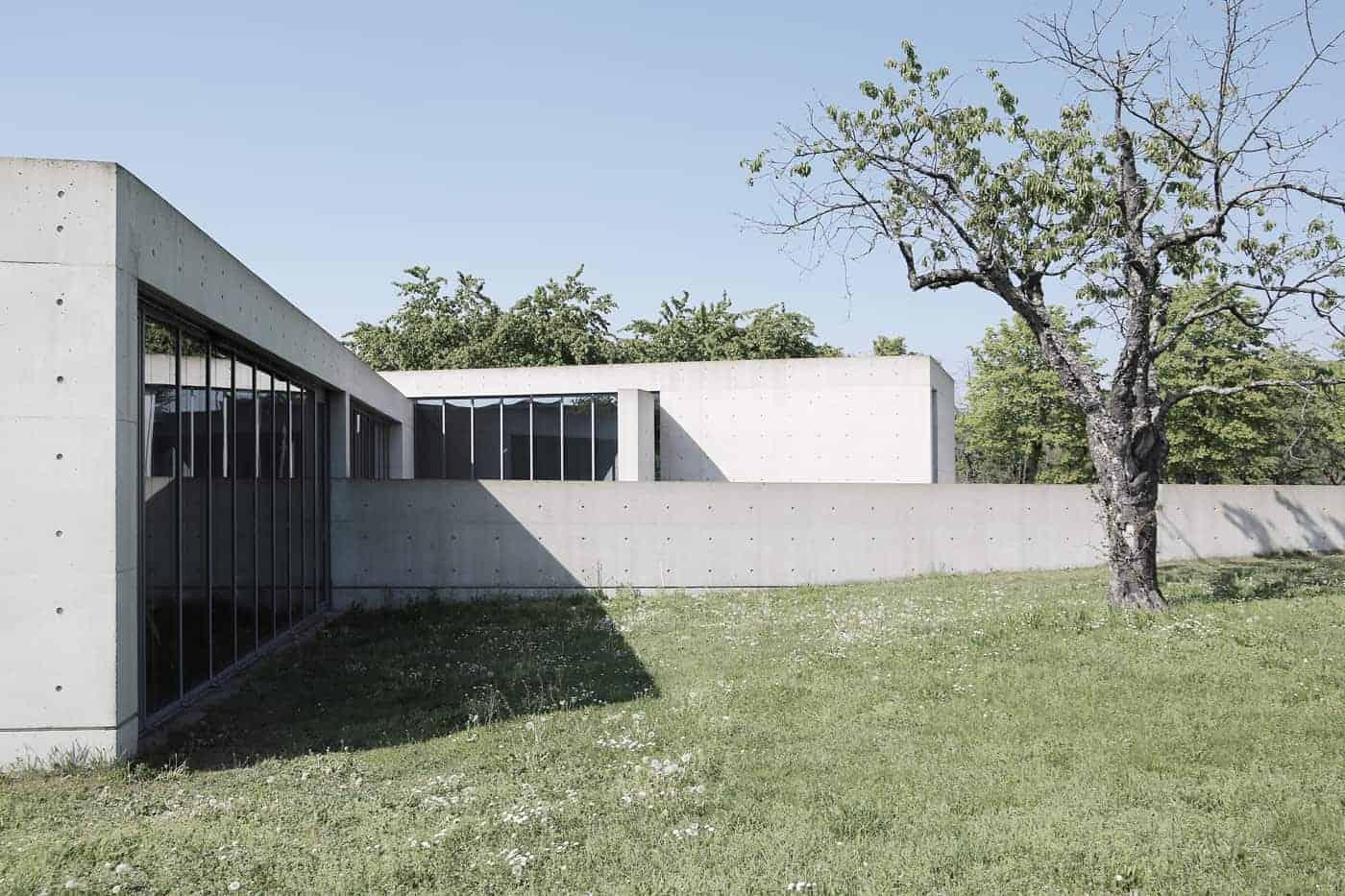 Vitra Conference Pavilion by Tadao Ando
