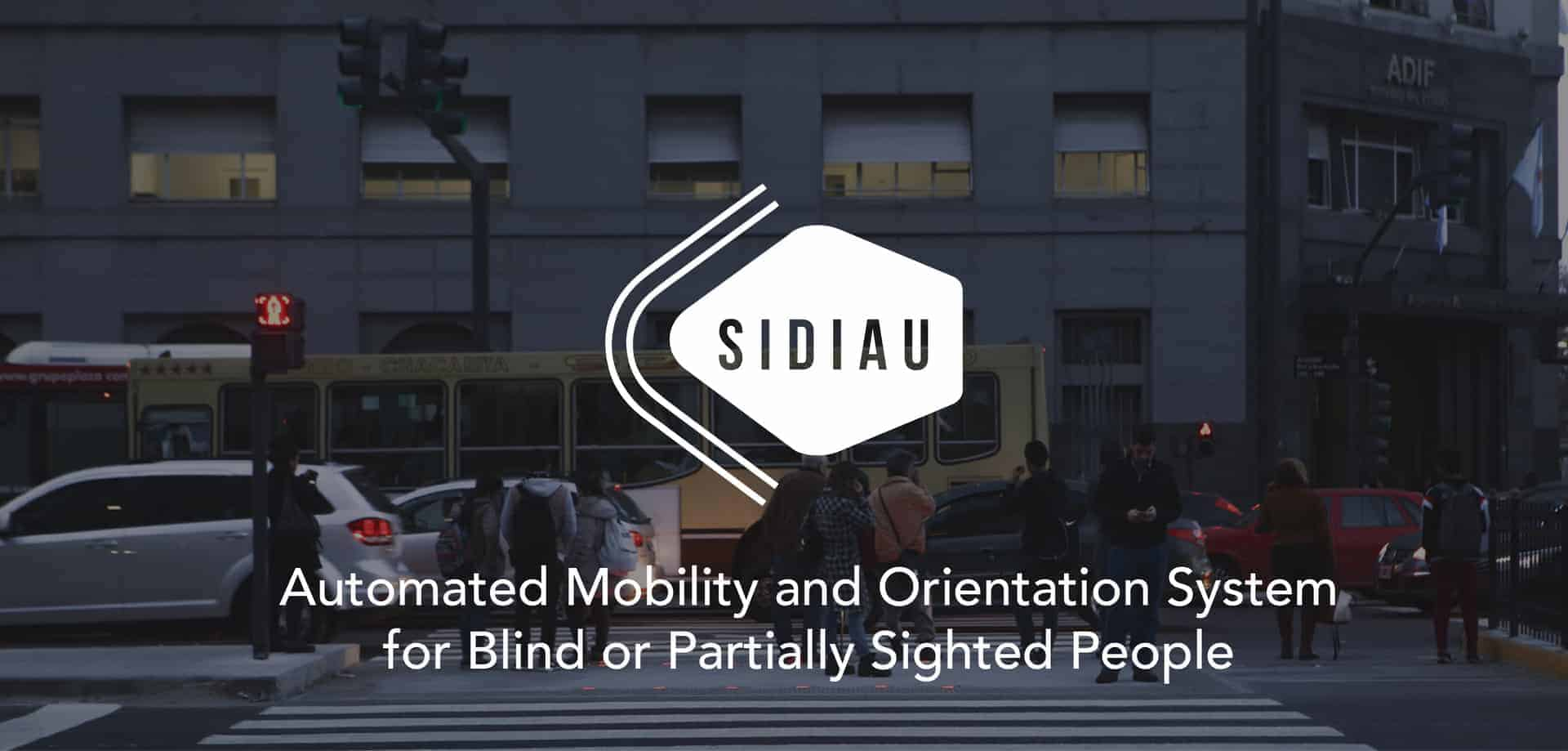 SIDIAU- Automated Mobility and Orientation System for Blind or Partially Sighted People